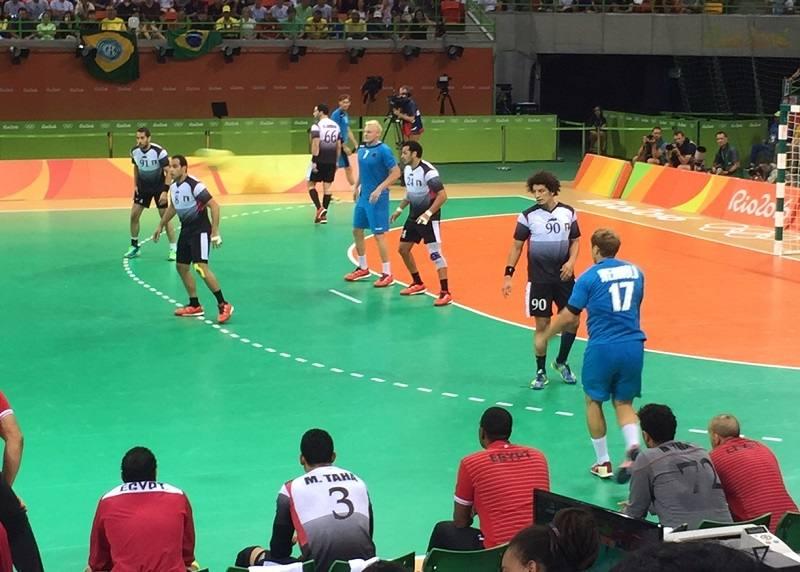 olympia handball deutschland ägypten